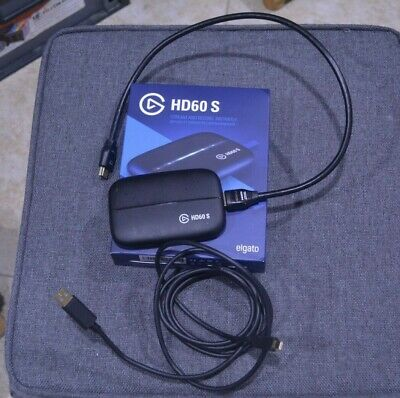 Elgato Game Capture HD60-S USB 3.0 1080p60 HDMI Stream & Record, Used once