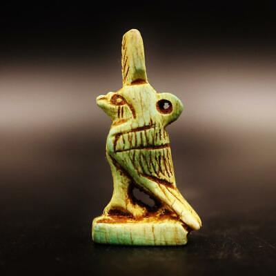 Rare Antique Egyptian Amulet Figurine of God Anubis God Of Death