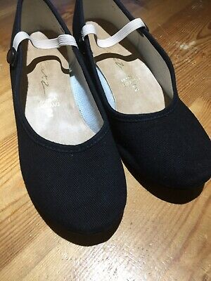 Black Character Shoes Size 2