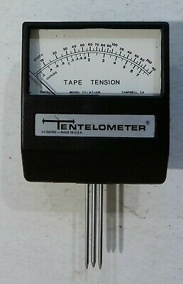 Tentelometer Model T2-H7-UM with case and calibration kit - CLEAN + TESTED