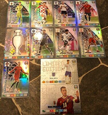 Panini Adrenalyn Xl Euro 2020 Pick Your Master/Invincible/Limited Edition Mint
