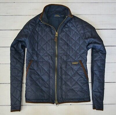 POLO RALPH LAUREN Mens Jacket Casual Outdoor Cotton Quilted Coat Size Large