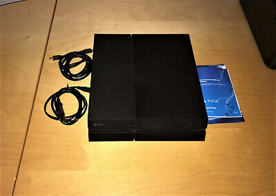Sony PlayStation 4 (PS4) 500GB Spielekonsole - black (CUH-1216A)