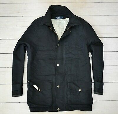 POLO by RALPH LAUREN Mens Jacket Casual Outdoor Cotton Classic Coat Size XLarge