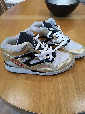 REEBOK PUMP LIMITED Edition Omni Lite Metallic Gold Stucco 4
