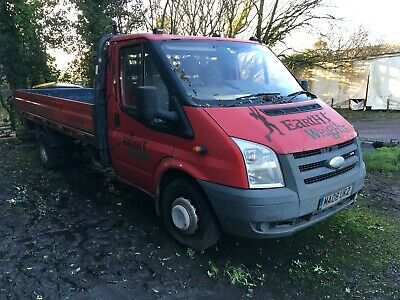 Ford Transit 350 LWB Dropside 2008 Spares or Repair