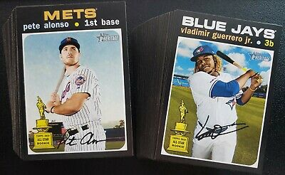 2020 Topps Heritage SP High Numbers 401-500 You Pick Complete Your Set