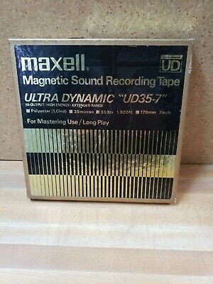 vtg used  MAXELL UD35-7 reel-to-reel tape #13