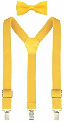 Lilax Boys Solid Color Adjustable, Yellow, Size 22 Inches (7 Months - 3 Years)