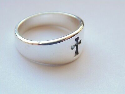 James Avery Sterling Silver CROSSLET Cross Ring *Size 7