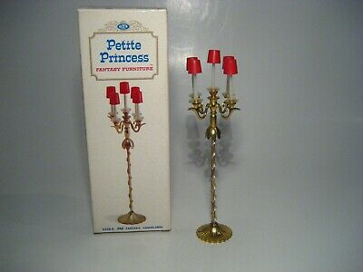 Vintage Dollhouse Furniture Ideal Petite Princess Fantasy Floor Candelabra