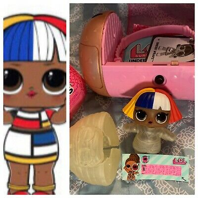 LOL Surprise Doll SHAPES Eye Spy Under Wraps Series NEW Mostly Sealed Mod Style