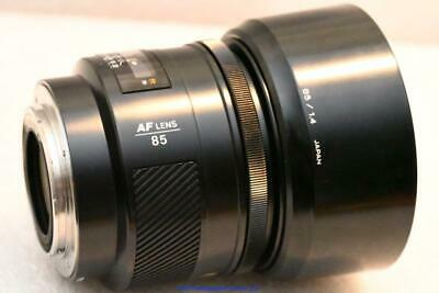 Minolta / Sony 85mm f1.4  AF Prime lens GREAT CONDITION