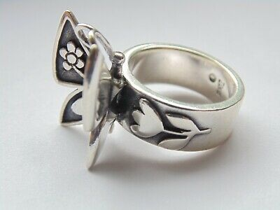 James Avery Sterling Silver MARIPOSA Butterfly Ring *Size 7 1/4