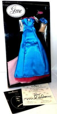 Ashton Drake Gene Doll Outfits BLUE EVENING OUTFIT Mel Odom 1995 New
