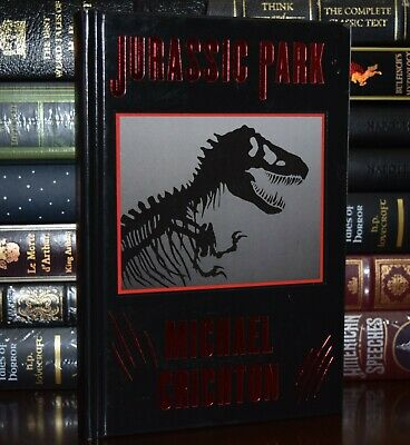Jurassic Park by Michael Crichton New Leather Bound Hardcover