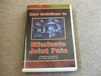 """""""New Solutions to Eliminate Joint Pain"""" PowerPoint Chiropractic, Dr. Singer"""