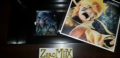 NEUF Jump Force PS4 Steelbook + 3 Art Boards + Box de Collection