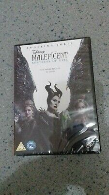 Maleficent: Mistress of Evil [DVD] 2020 NEW SEALED