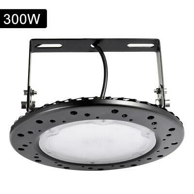 Super Bright Warehouse LED 300W UFO High Bay Lights Factory Shop GYM Light Lamp