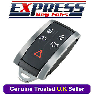 JAGUAR X TYPE S XJ XKR XF XK 4 BUTTONS REMOTE SMART KEY FOB CASE RUBBER PAD