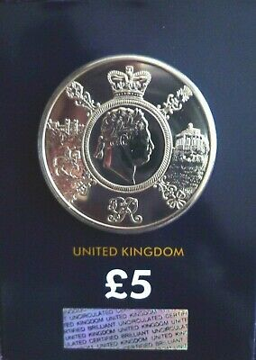 2020 Five Pound Coin George III £5 Brilliant Uncirculated