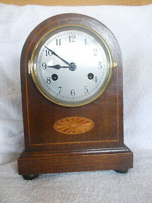 Old Mantel, Clock, Not Working Sold As Spares Or Repairs