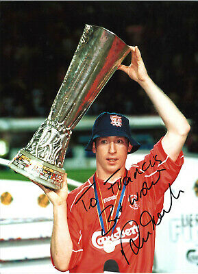 Robbie Fowler Liverpool 16 x 12 inch hand signed authentic football photo SS294R