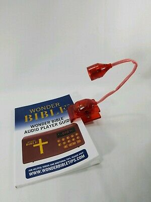 LED Clip-On Book Lights with flexible Light Angle Booklight