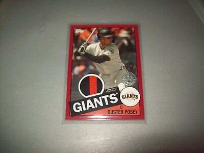 2020 topps series one buster posey game used memorabilia #15/25