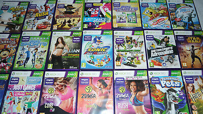 Kinect Games for Xbox 360 Very Good Condition Same Day Post