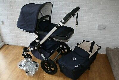 Bugaboo Cameleon Cam 3 Classic Navy blue pram and pushchair 2 in 1