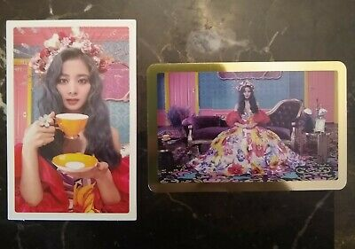 TWICE Feel Special Official Tzuyu photocards