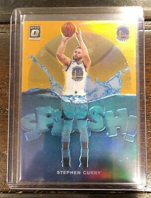 Stephen Curry 2019-20 Panini Optic Splash #4 Orange 32/39