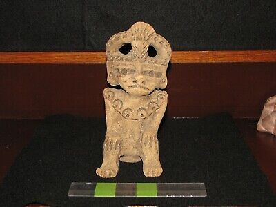 Pre Columbian, Tested, Pottery, West Mexican, Choice Ancient Figure, L/F E/P/C