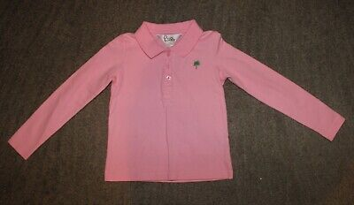 Lilly Pulitzer Girls Pink Long Sleeve Shirt - Size 4 - EUC