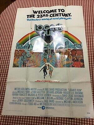Logan/'s run Michael York cult movie poster print #2