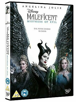Maleficent: Mistress of Evil DVD New & Sealed