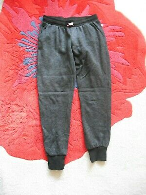 **Stunning** Girls Age 13-14 H&M Black Marl Joggers *Fast Postage**