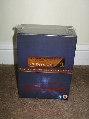 Star Trek:The Movies 1-X Special Collector'S Edition DVD New