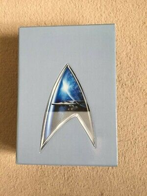 Star Trek Boxed Set of Movies all in mint condition DVDs