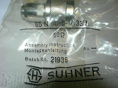 3 GHz Suhner 65SMA50-0-12//133 chiusura 50 ohm  DC
