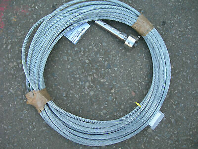 Steel Wire Rope Heavyduty Galvanized 10mm Diameter Winch Cable 26metre (A6)