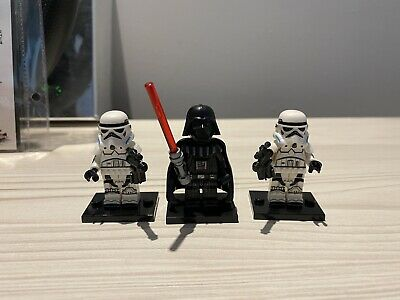 Star Wars Custom Brick Model MiniFigure Darth Vader Stormtrooper Lego Compatible