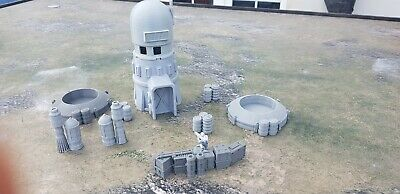 Star Wars Legion Terrain 2 x Wells / Tower and Scatter Empire Rebels h