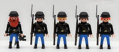 Yankee General 1 Playmobil to Officer Soldier vs.Southerner Acw Csa RAR