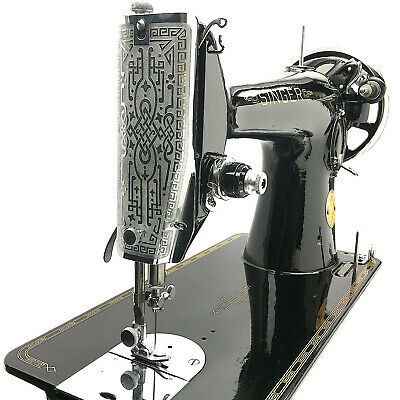SINGER 201 Sewing Machine 201k Restored & Serviced by 3FTERS