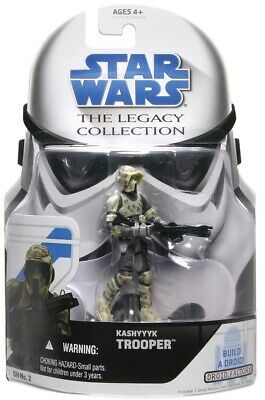 "Star Wars The Legacy Collection Kashyyyk Trooper 3.75"" Action Figure BD No.2"