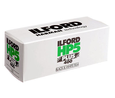 5x Ilford HP5 Plus - Black & white print film 120 ISO 400