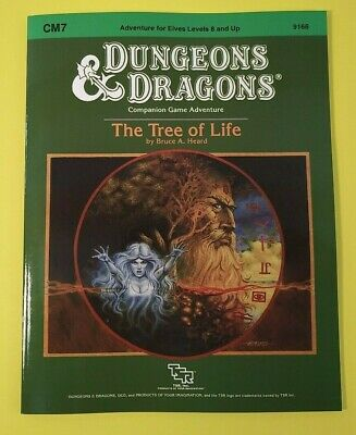 CM7 The Tree of Life - Dungeons & Dragons AD&D D&D